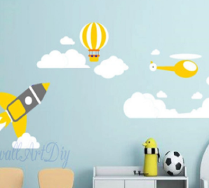 IN THE SKY WALL DECAL