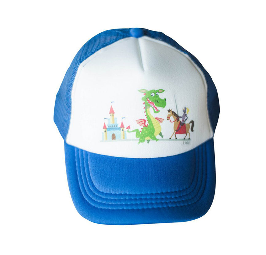 KID'S TRUCKER DRAGON HAT
