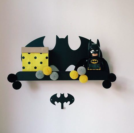 BATMAN METAL SHELF