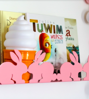 BUNNY METAL SHELF - PINK
