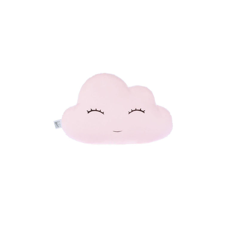 SMILING CLOUD PILLOW - PALE PINK
