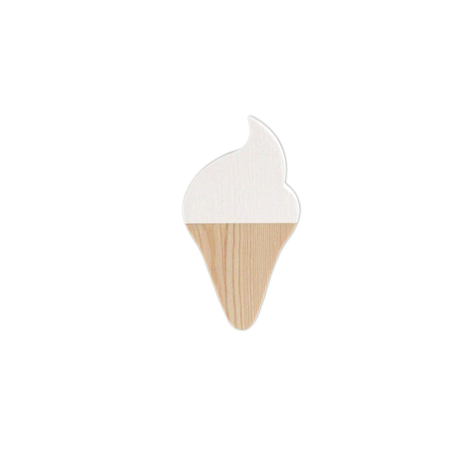 WHITE ICE CREAM HOOKS