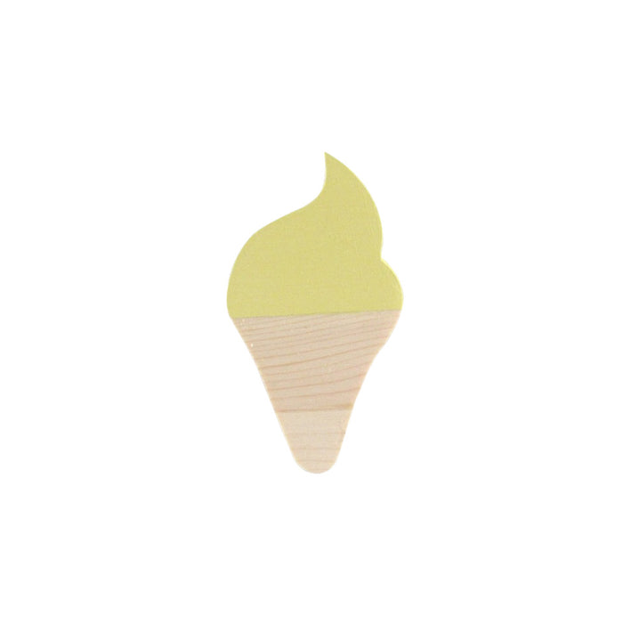 YELLOW ICE CREAM HOOKS