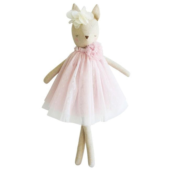 Alimrose Designs DELORES DEER - Pink - Honey Tree Baby | Children's Toys | Teethers | Handmade Gift | Decor