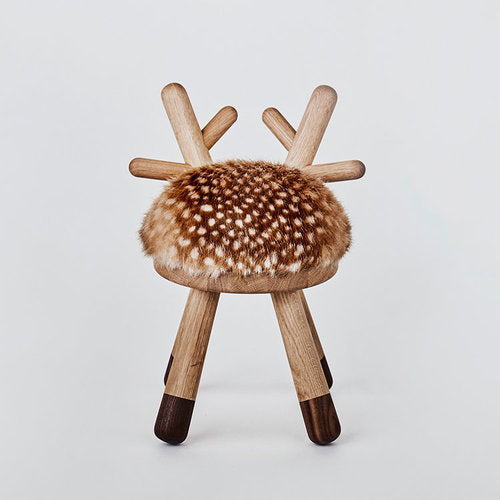 Faux Fur BAMBI CHAIR by EO - Honey Tree Baby | Children's Toys | Teethers | Handmade Gift | Decor