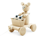 BAXTER - Wooden Pull Along Bear With Xylophone - Honey Tree Baby | Children's Toys | Teethers | Handmade Gift | Decor