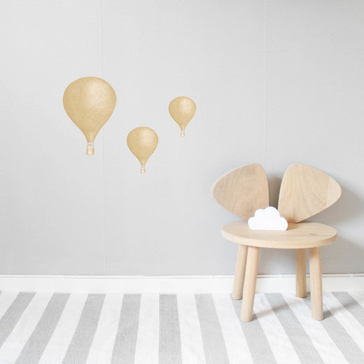 StickStay BALLOON COLLECTION Dusty Mustard - Honey Tree Baby | Children's Toys | Teethers | Handmade Gift | Decor