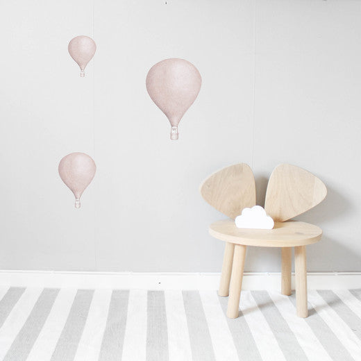 StickStay BALLOON COLLECTION Dusty Pink - Honey Tree Baby | Children's Toys | Teethers | Handmade Gift | Decor
