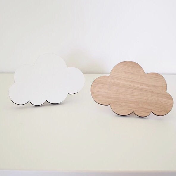 CLOUD WALL HOOK - WHITE - Honey Tree Baby | Children's Toys | Teethers | Handmade Gift | Decor