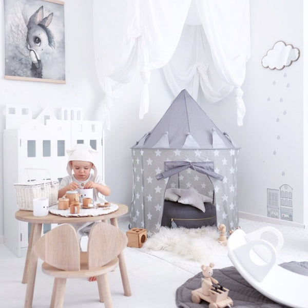 STAR GREY Play Tent - Honey Tree Baby | Children's Toys | Teethers | Handmade Gift | Decor
