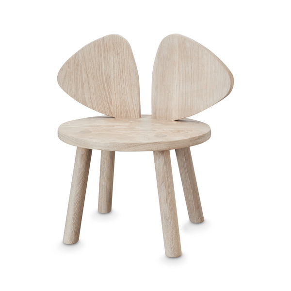 Nofred Mouse Chair OAK - Honey Tree Baby | Children's Toys | Teethers | Handmade Gift | Decor