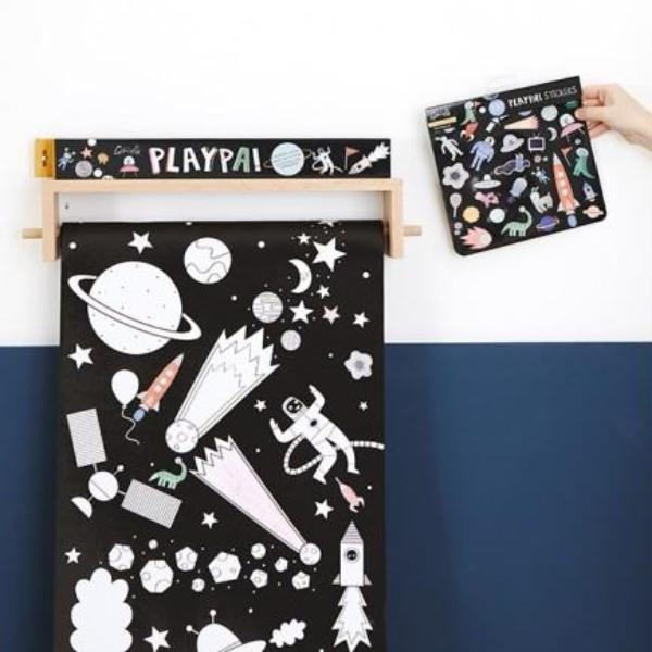 Olli Ella PLAYPA STICKERS - SPACE