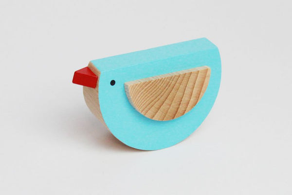 PEPA - Wooden Rocking Bird - Honey Tree Baby | Children's Toys | Teethers | Handmade Gift | Decor