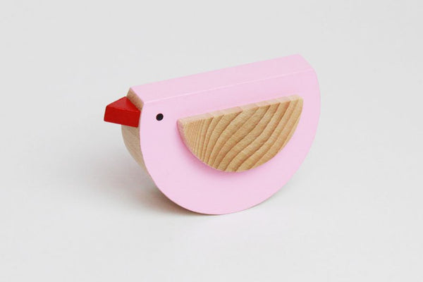 PEPI - Wooden Rocking Bird - Honey Tree Baby | Children's Toys | Teethers | Handmade Gift | Decor