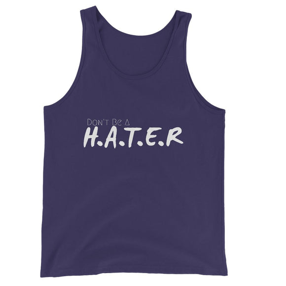 HATER Unisex Jersey Tank Top
