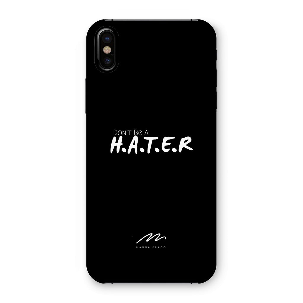 HATER Black Phone Case