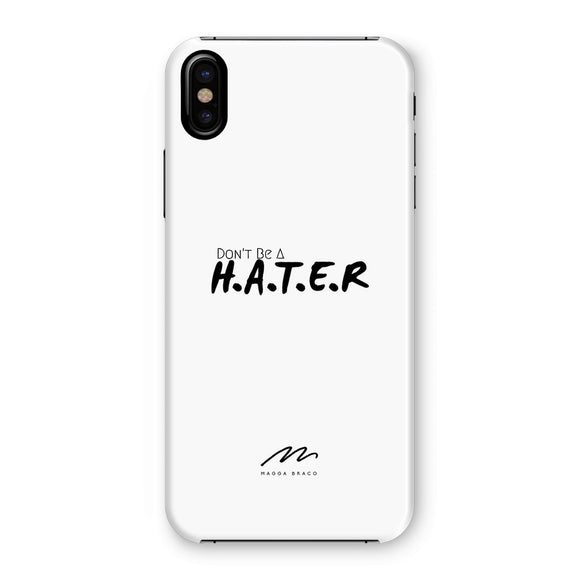 HATER White Phone Case
