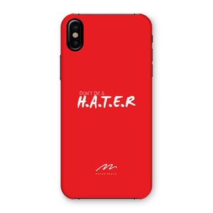 HATER Red Phone Case