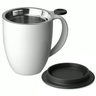Uni Brew-in-Mug with Infuser & Lid 16oz.
