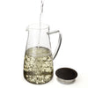 Flask Glass Iced Tea Jug, 64oz
