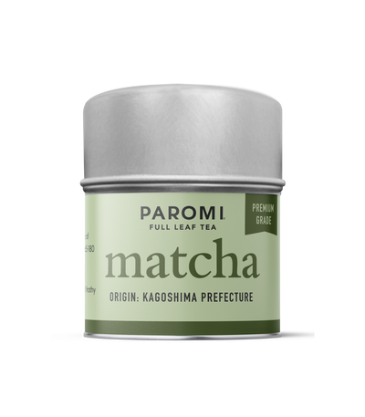 Organic Matcha Premium Grade, Stone Ground Japanese Tencha Green Tea, Caffeinated, 15 servings