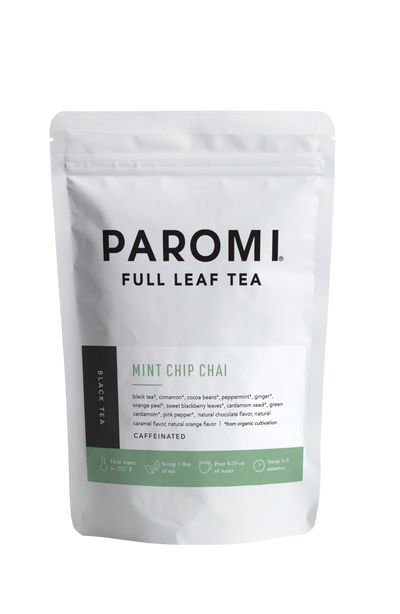Mint Chip Chai Black Tea, Full Leaf, Caffeinated, Loose Tea, 2 oz  ( 18 servings )