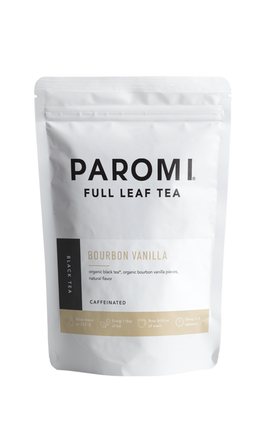Bourbon Vanilla Black Tea, Full Leaf, Caffeinated, Loose Tea, 2 oz (18 servings)