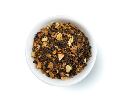 Pumpkin Spice Black Tea, Full Leaf, Caffeinated, Loose Tea, 4 oz  (36 servings)