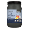 Organic Royal Breakfast Black Tea, Full Leaf, in Pyramid Tea Bags