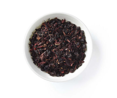 Elderberry Punch Fruit Tea, Fruit Infusion, Caffeine Free, Loose Tea, 2 oz (18 servings)