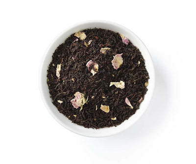 Rose Black Tea, Full Leaf, Caffeinated, Loose Tea, 2 oz (18 servings)