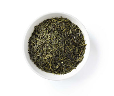Sencha Green Tea, Full Leaf, Light Caffeine, Loose Tea, 2 oz (18 servings)