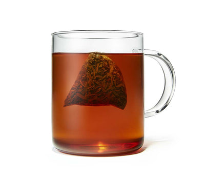 Organic Bourbon Vanilla Black Tea, Full Leaf, in Pyramid Tea Bags