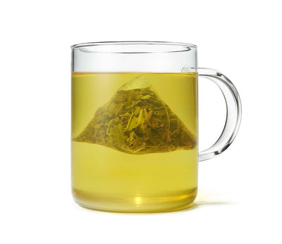 Organic Jasmine Green Tea, Full Leaf, in Pyramid Tea Bags