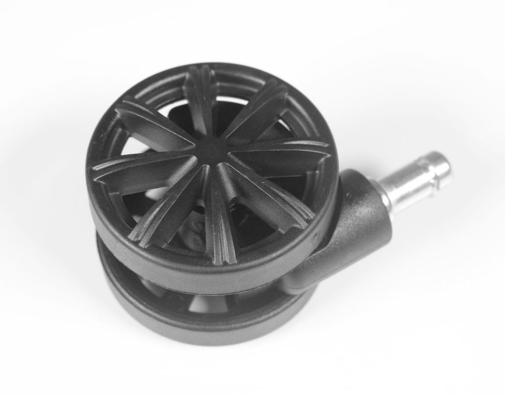 ACCESSORIES: Standard Wheels for Replacement - Black (Set of 5)