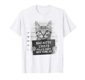 Funny Cute Bad Kitty Cat T-Shirt