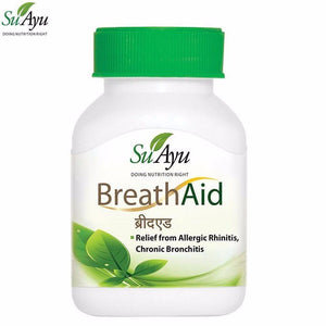 100% SuAyu Breath Aid Capsules Helps Relieve Respiratory Disorders Available