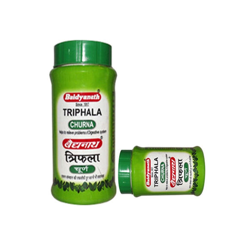 100 % Natural Product Baidyanath Triphala Churna - 100gm