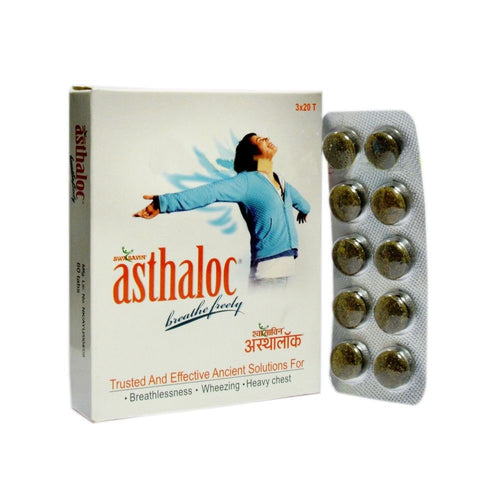 Ayushakti Asthaloc -Pure Natural Herbals For HealthCare-60 TABS Available