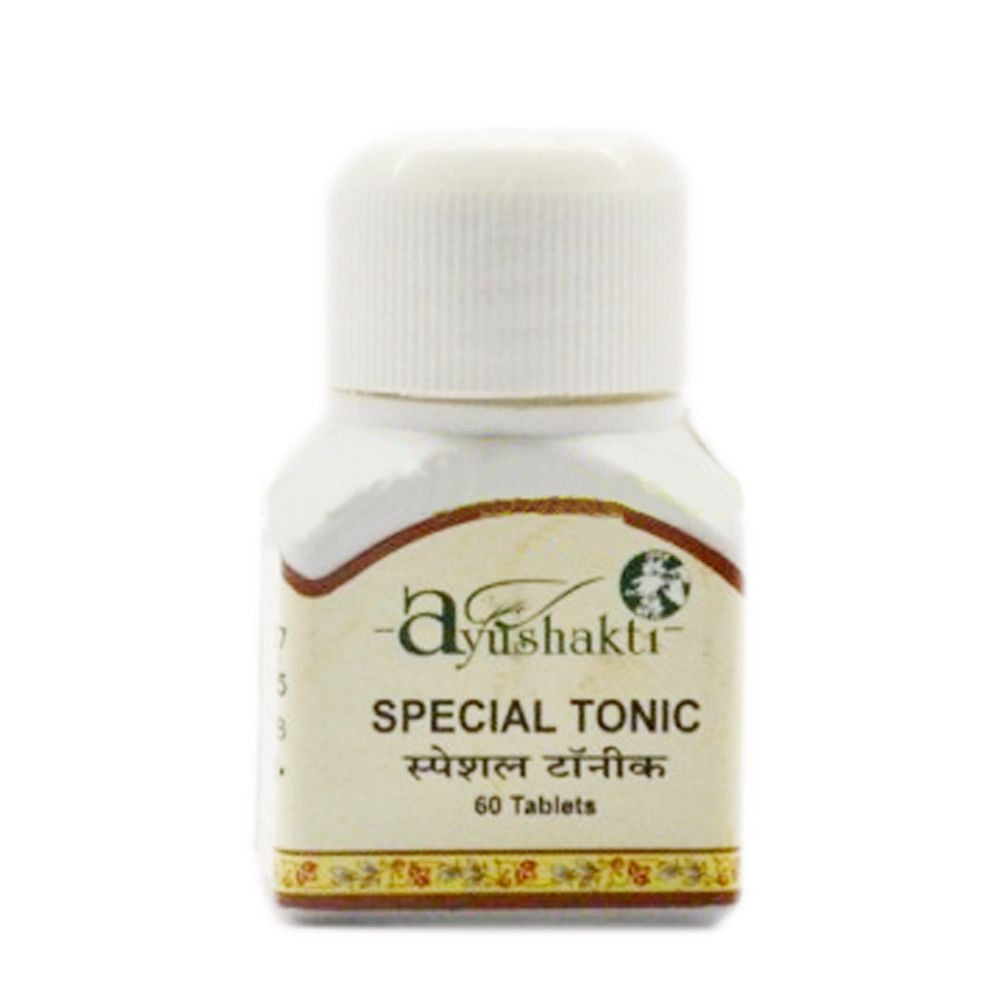 Ayushakti Special Tonic Tablets -Natural Herbals- 60 Tabs Available