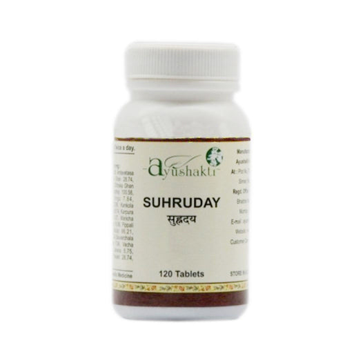 Ayushakti Suhruday Tablet -Pure Natural Herbals-120 TABS Available