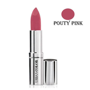 Urban Color Crème Glam Lipstick With Sun Protection- Pouty Pink - 4.2g