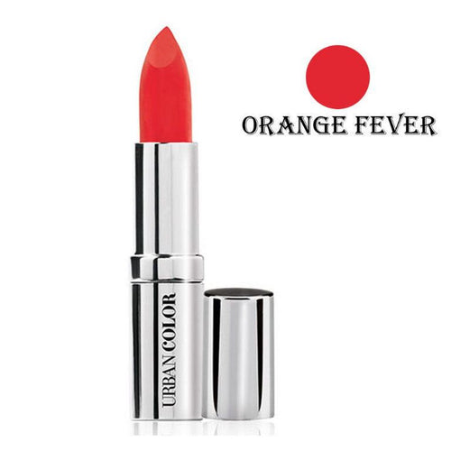 Urban Color Crème Glam Lipstick With Sun Protection- Orange Fever - 4.2g