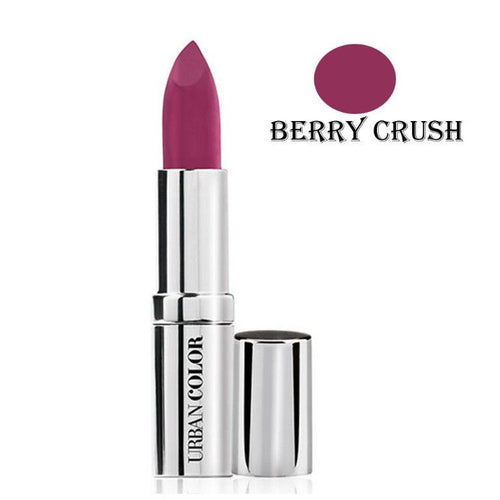 Urban Color Crème Glam Lipstick With Sun Protection- Purple Love - 4.2g