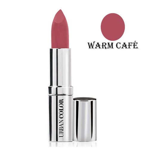 Urban Color Crème Glam Lipstick With Sun Protection- Warm Cafe - 4.2g