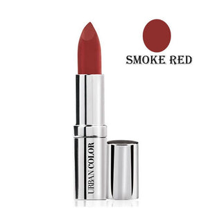 Urban Color Crème Glam Lipstick With Sun Protection- Smoke Red - 4.2g