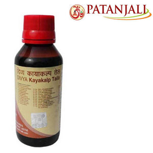 100 % Natural Patanjali Divya Kayakalp Tail (Oil) Soft & Smooth SKin 100 ml)