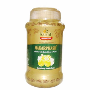 Sandu Pharmaceuticals Makarprash 500g 100% Pure&Natural Available