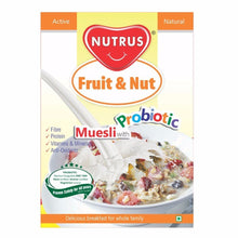 100 % Pure Nutrus Muesli with Probiotics - Fruit & Nut -400Gm