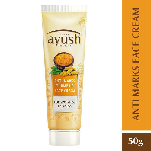 LEVER Ayush Anti Marks Turmeric Face Cream 50GM Available